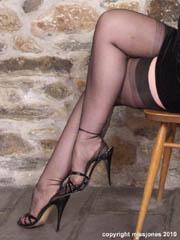 Sheer stockings