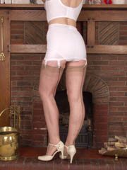 Girdle and stockings